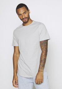 River Island - 5 PACK - Basic T-shirt - pink/white/grey/dark grey/black - 5