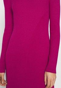 Who What Wear - PANEL DRESS - Jumper dress - magenta - 3