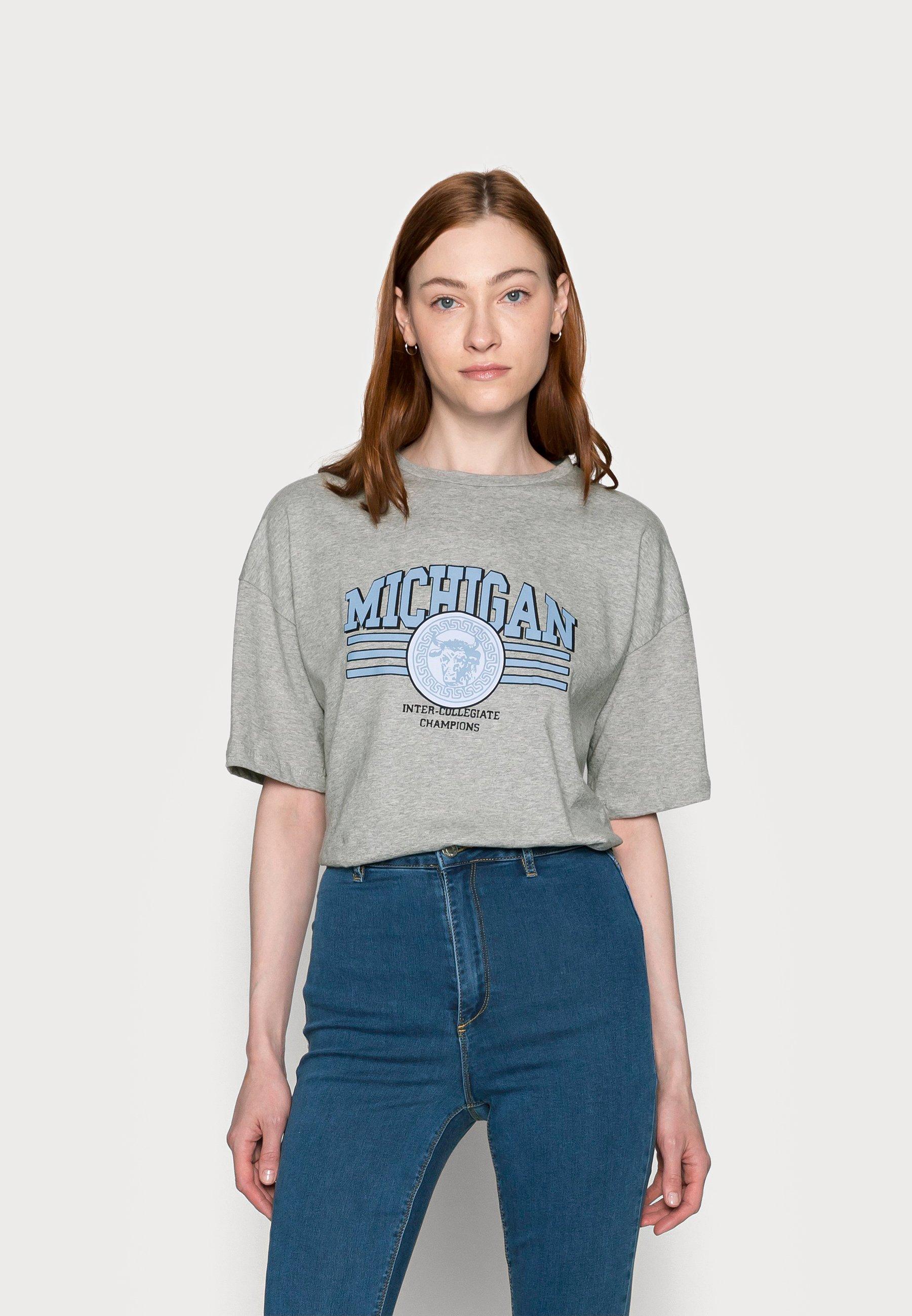 Damen MICHIGAN DROP SHOULDER - T-Shirt print