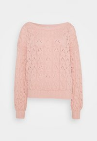 ONLY Tall - ONLBRYNN LIFE PULLOVER - Strikkegenser - rose smoke - 0