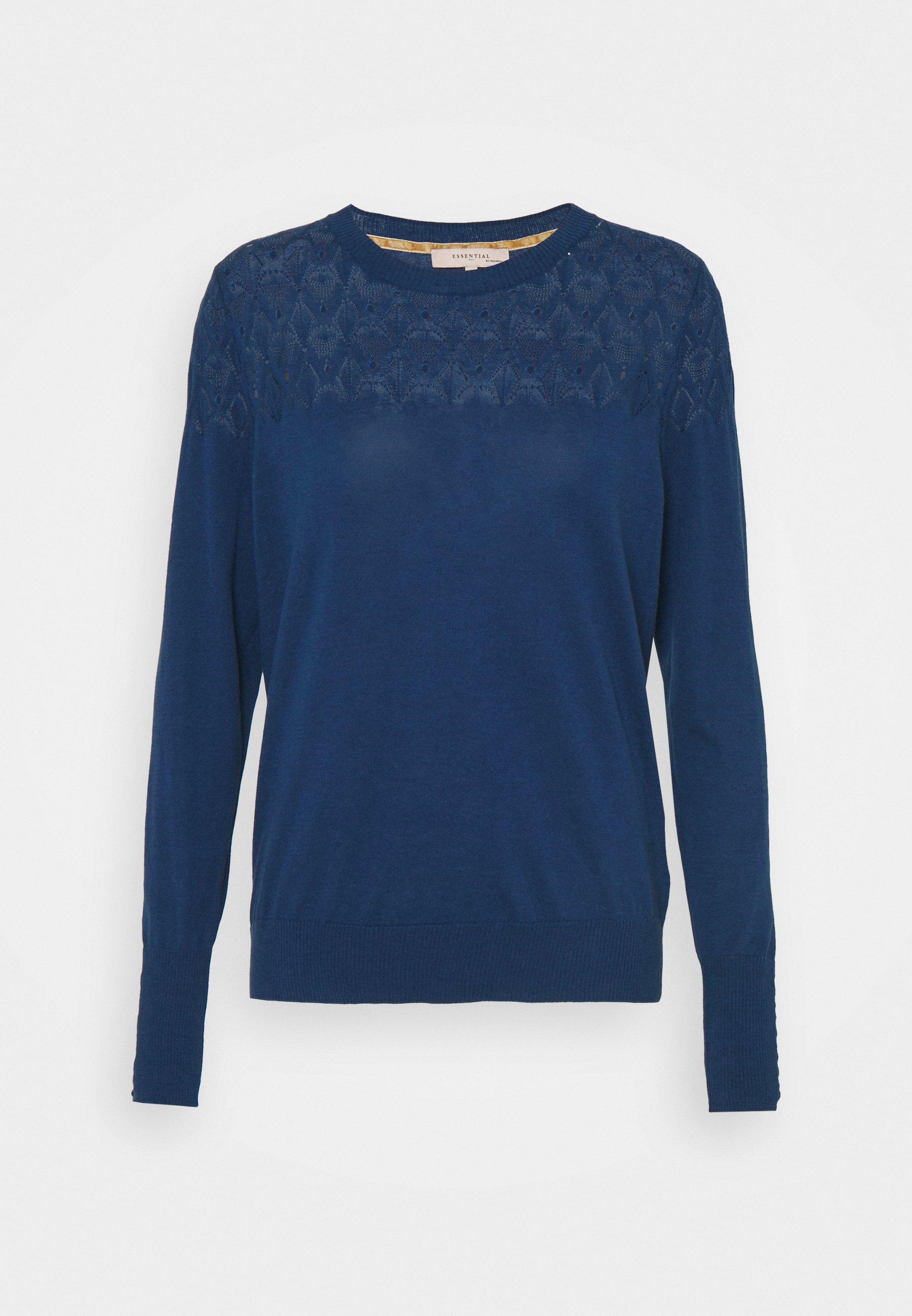 Women ESSENTIAL - Jumper - blue