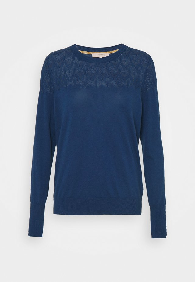 ESSENTIAL - Sweter - blue