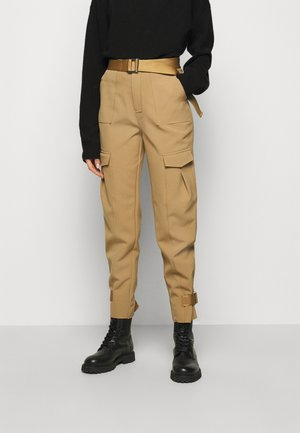 SKUNK TROUSER - Cargo trousers - tobacco