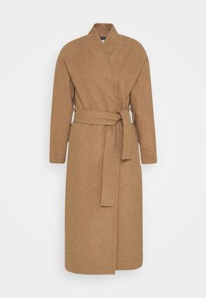 ZAHRA COAT - Classic coat - camel