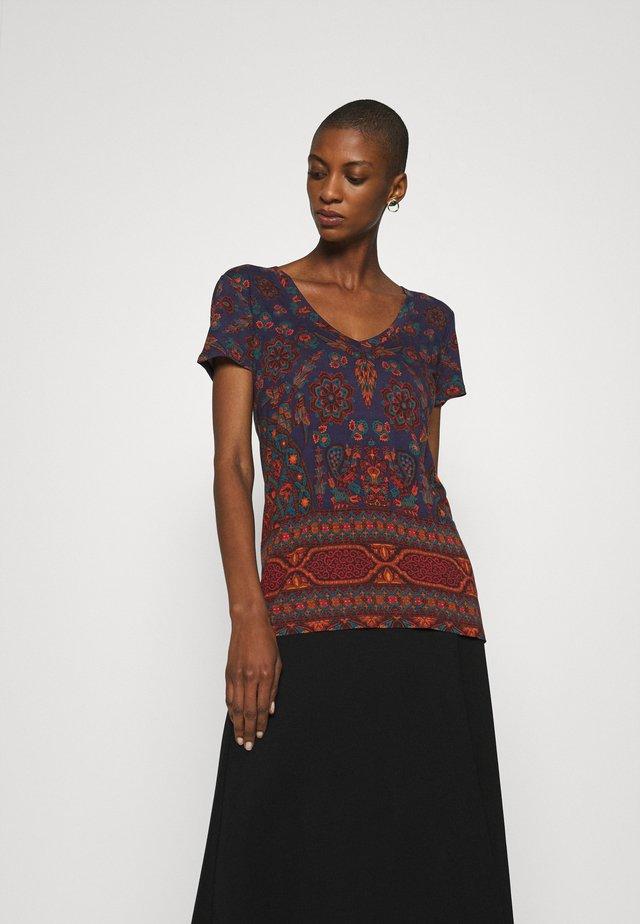 BENIN - T-shirts print - navy