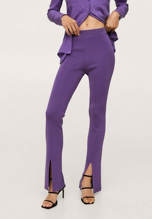 Trousers - violet
