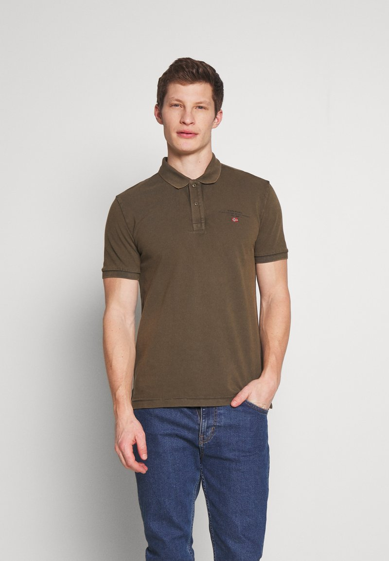 Napapijri - ELBAS - Polo shirt - green way