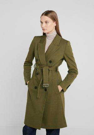 HOLMAN - Zimní kabát - oliv