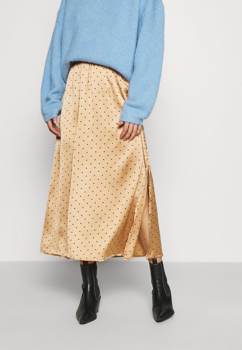 JDY - JDYDOTTIE SKIRT - A-line skirt - Tan