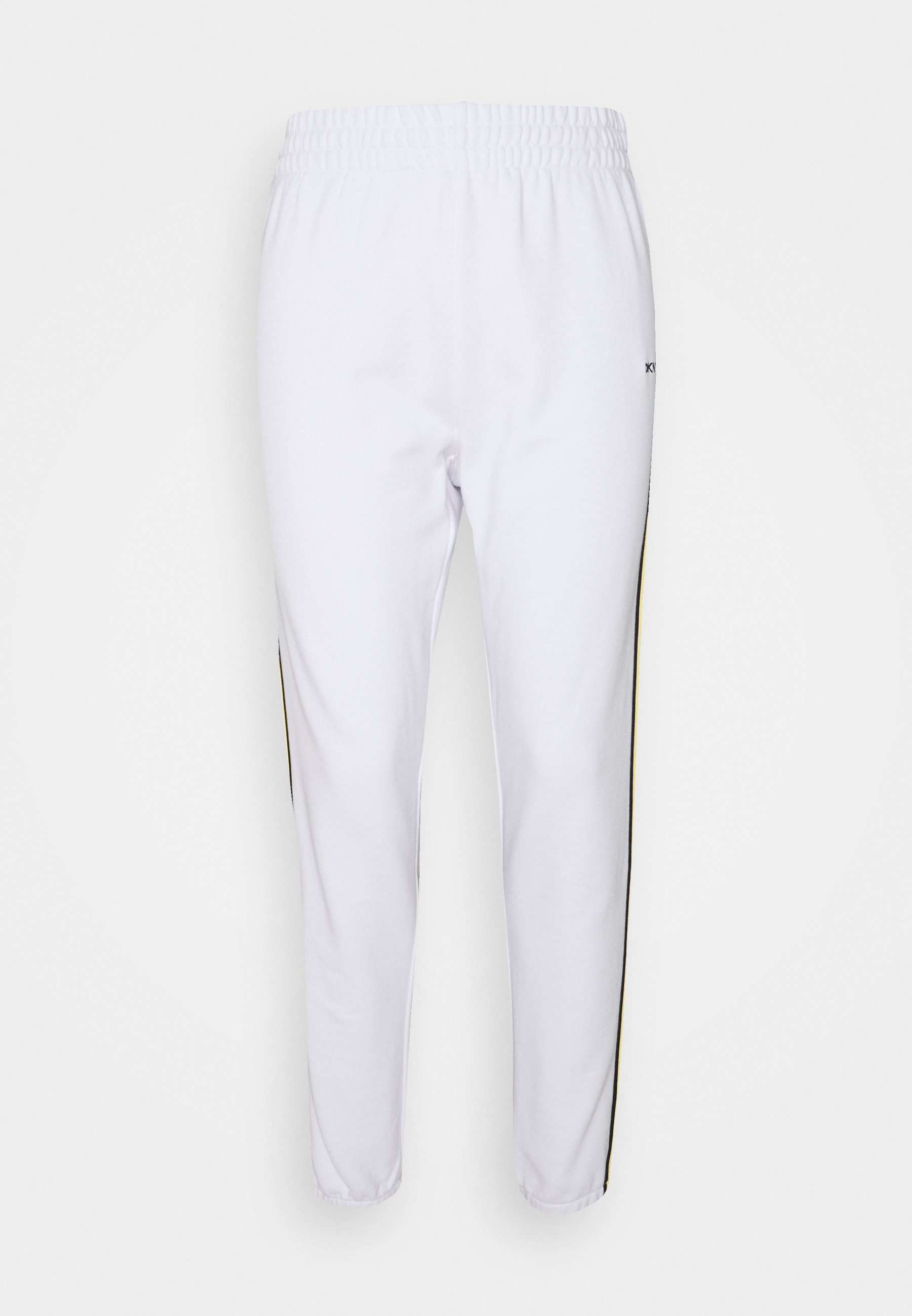 Women HIGH WAIST RELAXED CROPPED TAPING - Tracksuit bottoms