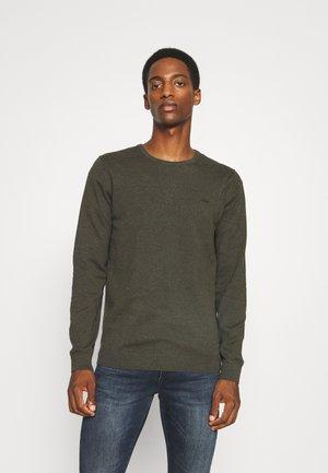 Sweter - khaki melange