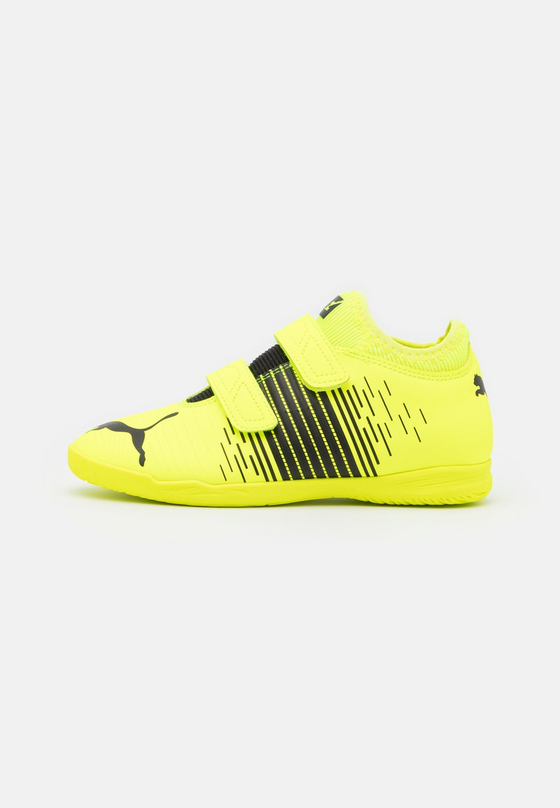 Puma - FUTURE Z 4.1 IT V JR UNISEX - Indoor football boots - yellow alert/black/white