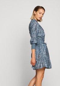 Rebecca Minkoff - DRESS - Shirt dress - blue/multi - 6