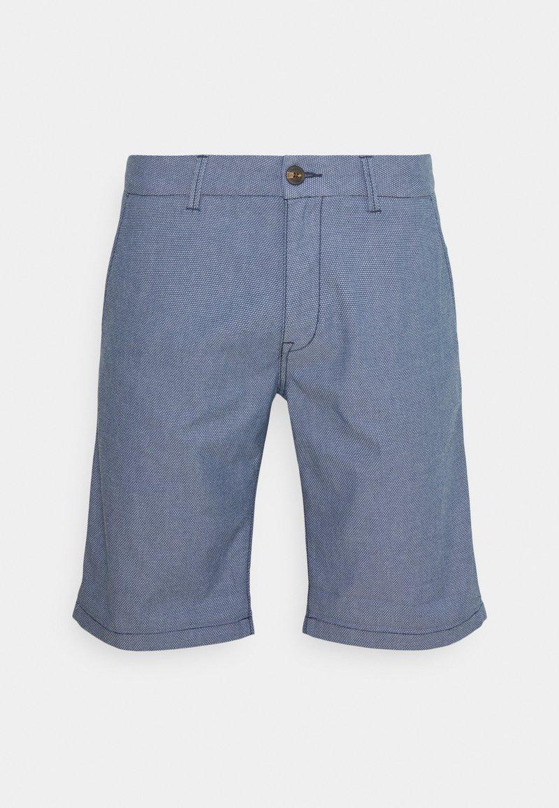 TOM TAILOR DENIM - Shorts - blue/white