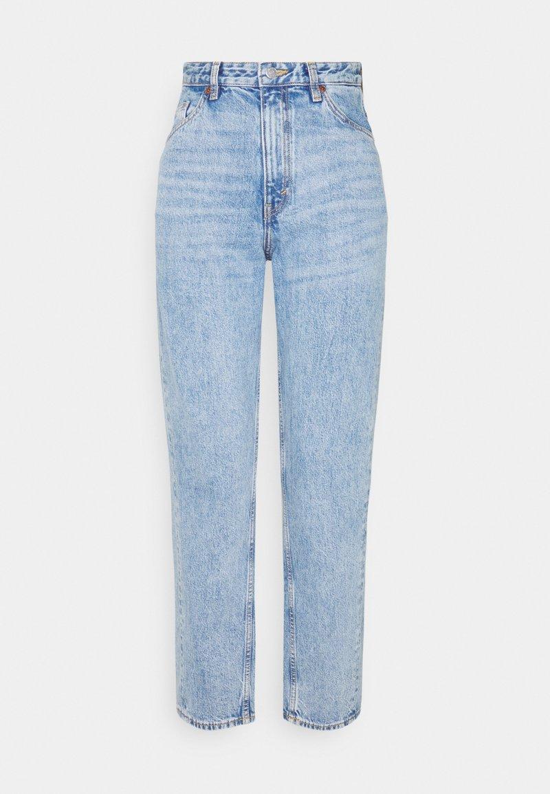 Monki - KYO - Džíny Straight Fit - blue medium dusty