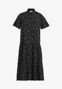 Topshop - SPOT PRINT CHUCK - Maxi dress - black - 4