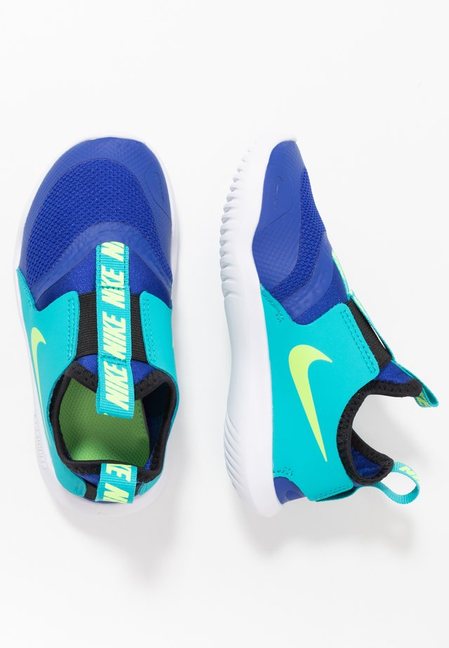 FLEX RUNNER UNISEX - Obuwie do biegania treningowe - hyper blue/ghost green/oracle aqua/black