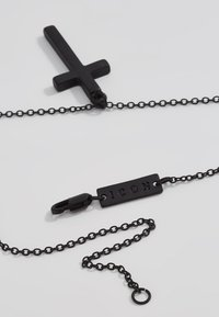 Icon Brand - CROSS TOWN NECKLACE - Necklace - black - 2