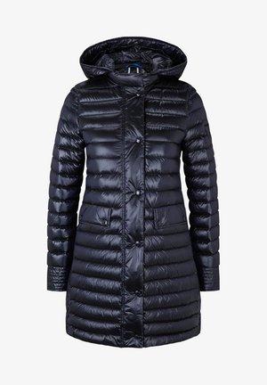 Kabát zprachového peří - navy-blau