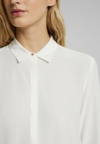 Esprit Collection - TOUCH ECO - Button-down blouse - off white - 3