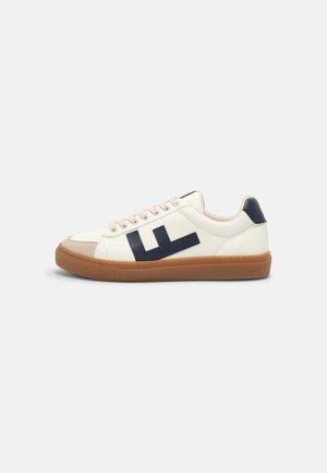 CLASSIC 70S - Trainers - white/navy/caramel
