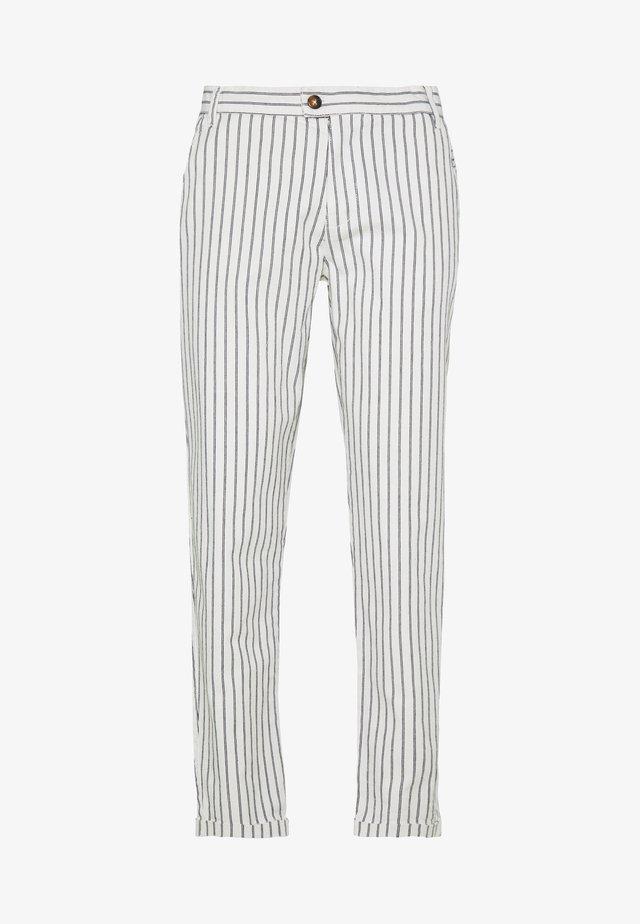 DURAN PANTS - Pantalones chinos - offwhite