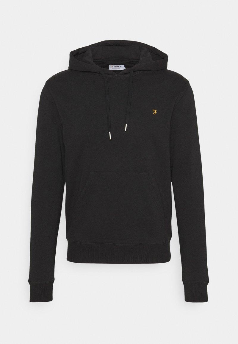 Farah - ZAIN HOODIE - Sweatshirt - black
