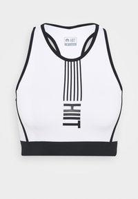 HIIT - LONGLINE BRALET  - Sports bra - black - 4