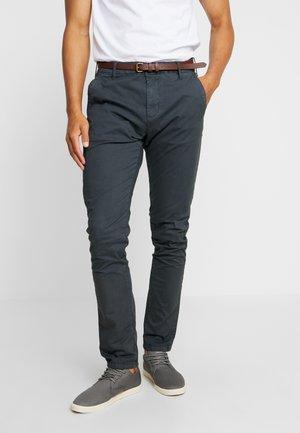 Trousers - raven grey