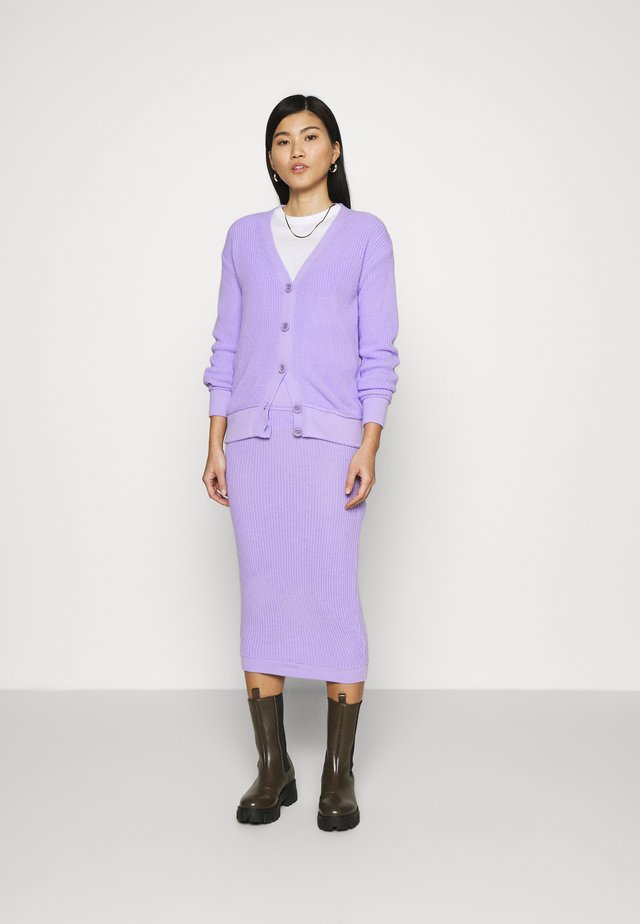 SET - Kardigan - lilac