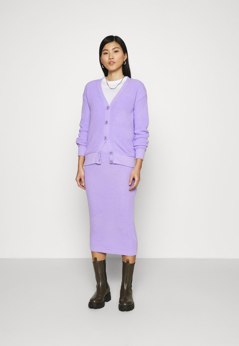 Trendyol - SET - Cardigan - lilac