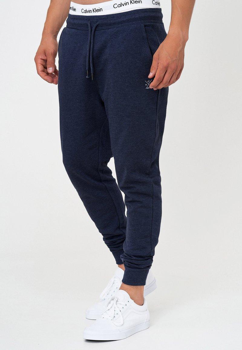 INDICODE JEANS - Pantalon de survêtement - navy mix