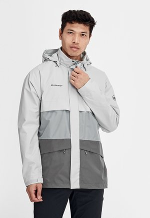 HERITAGE HS - Hardshell jacket - grey