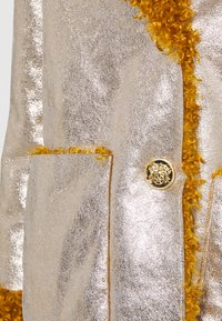 Pinko - DRACO COAT - Classic coat - senape/oro chiaro - 2