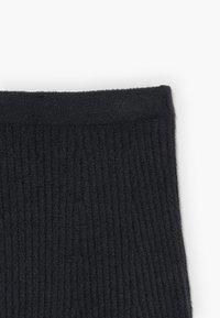 Abercrombie & Fitch - MATCH SKIRT - Áčková sukně - open black - 3