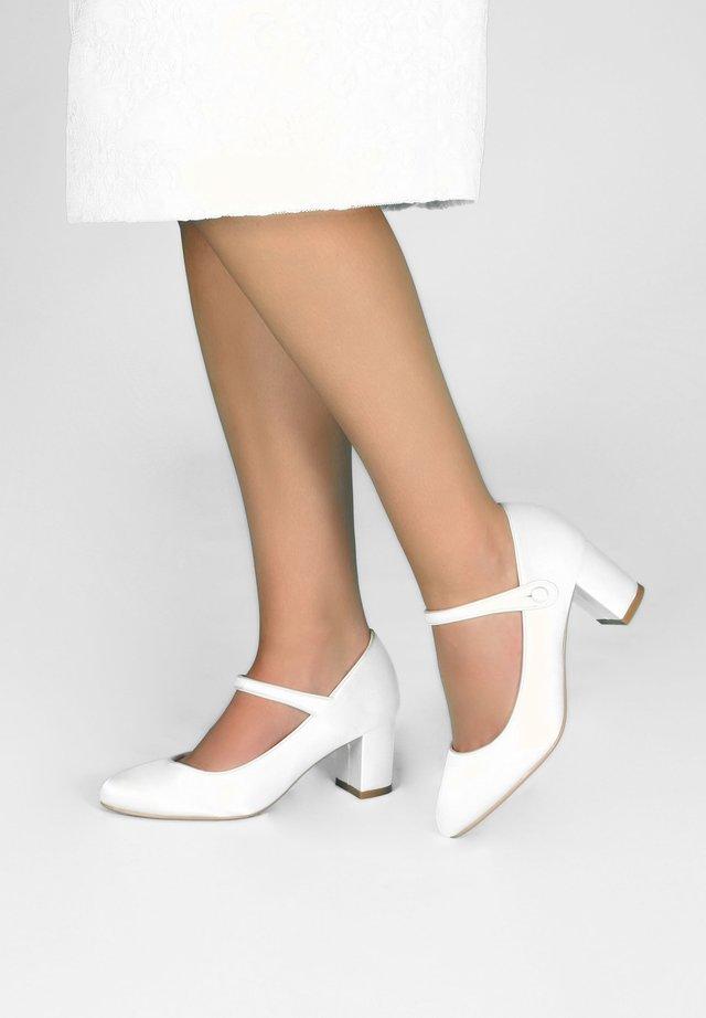 BRAUTSCHUHE TONI - Classic heels - ivory