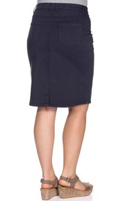 Sheego - Denim skirt - marine - 2