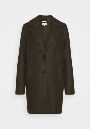 EASY WINTER COAT - Classic coat - olive night green