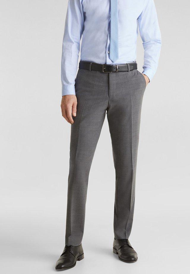 Oblekové kalhoty - dark grey