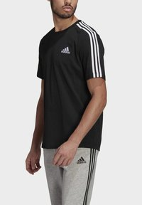 adidas Performance - Camiseta estampada - black/white - 2