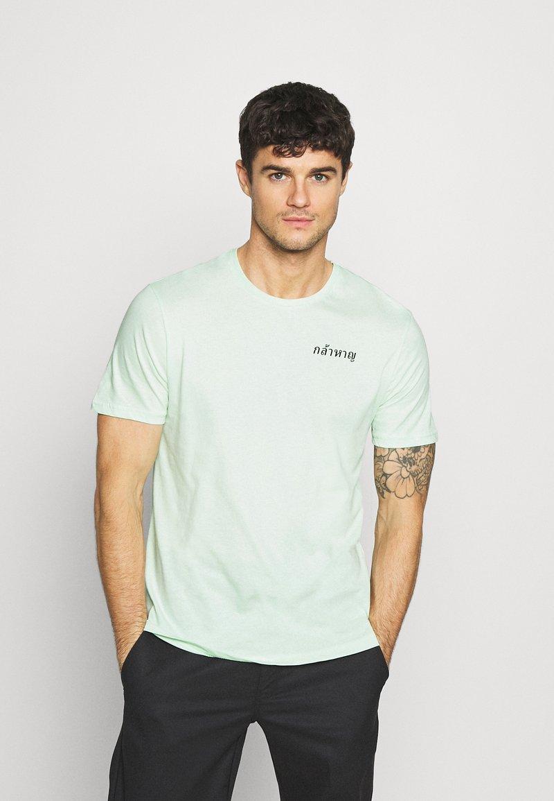 YOURTURN - T-shirt med print - green