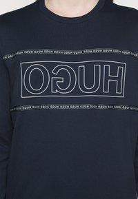 HUGO - DICAGO - T-shirt à manches longues - dark blue - 4