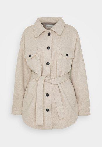 MY DEAREST SHACKET - Short coat - beige