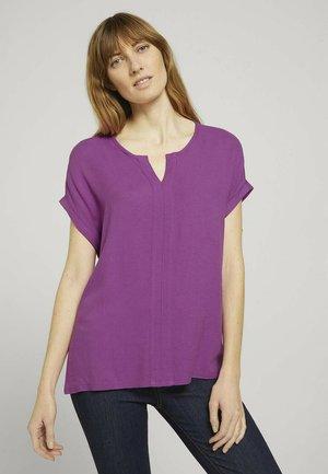 Basic T-shirt - plum blossom lilac