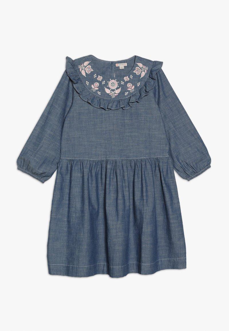J.CREW - PANSY DRESS - Denimové šaty - indigo