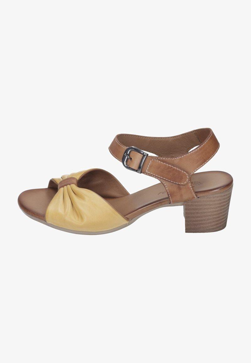 Piazza - Sandals - gelb