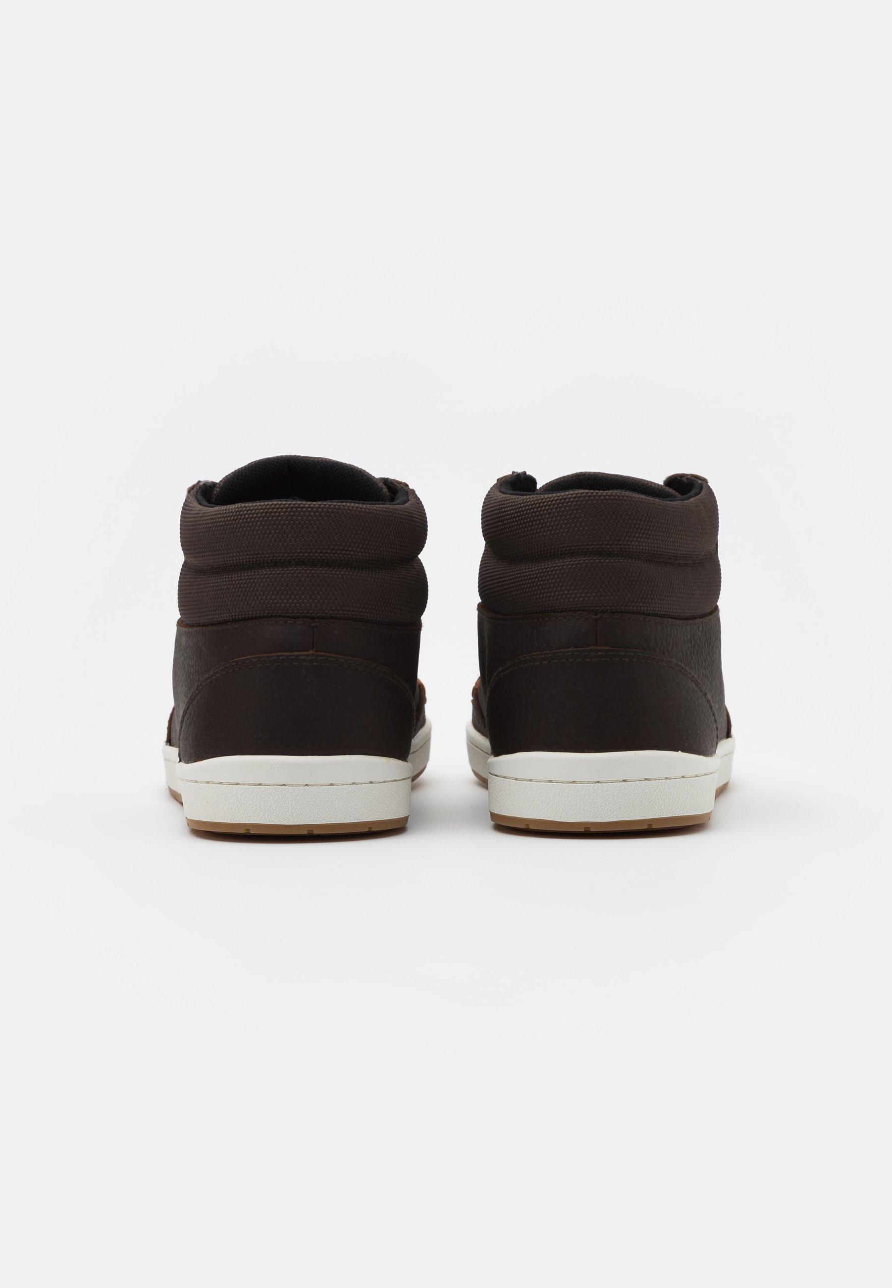 HUB INDUSTRY - Sneaker high - dark brown/offwhite/braun - Herrenschuhe yI3k7