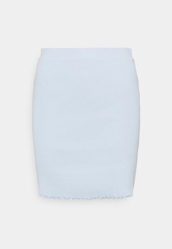 VIBALU SKIRT - Mini skirt - cashmere blue