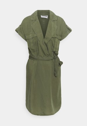 NMVERA ENDI DRESS - Shirt dress - khaki