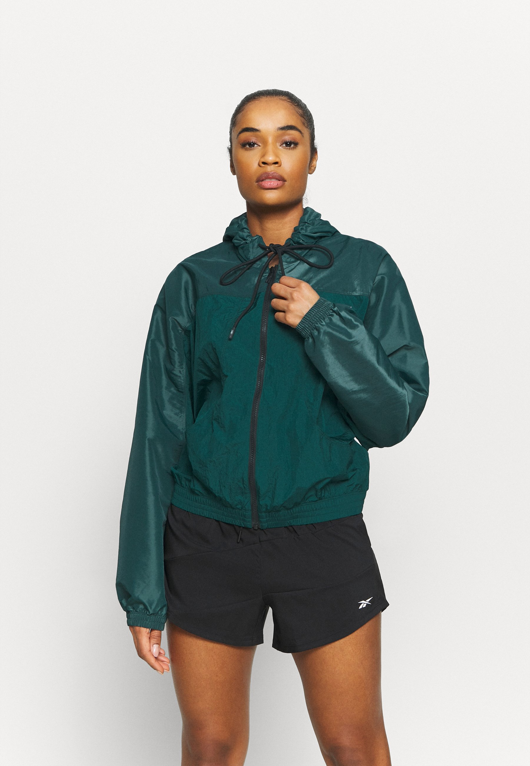 Women SHINY WOVEN JACKET - Training jacket